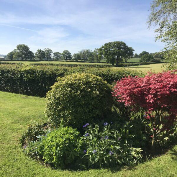 English gardens at English Cottage Vacation