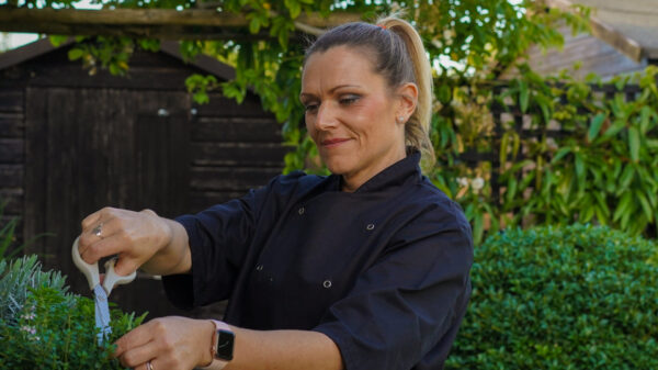 Chef Laura at English Cottage Vacation